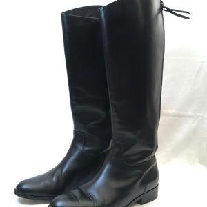 Cole Haan Arlington Riding Boots Black Size 8.5M